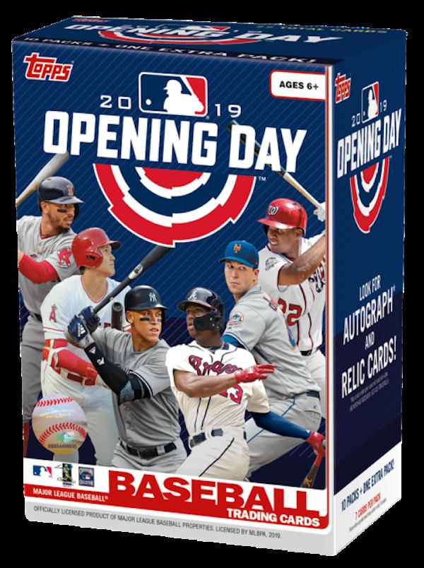 8b8aa6bfa17 Buzz Break  2019 Topps Opening Day baseball cards (blaster ...