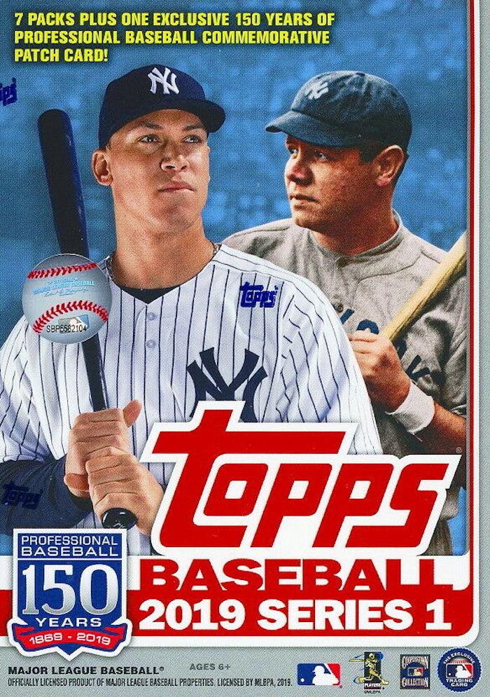 Buzz Break 2019 Topps Series 1 Baseball Cards Blaster Box