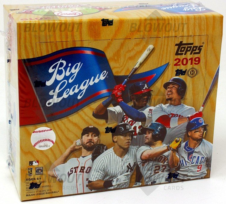 Buzz Break 2019 Topps Big League Baseball Cards Hobby