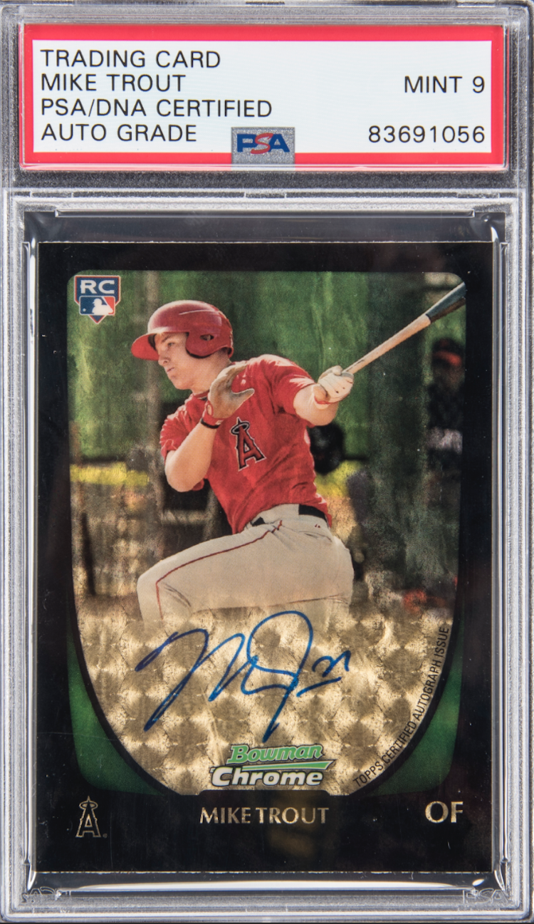 Mike Trout Superfractor That Never Happened Powers Big Pack Of