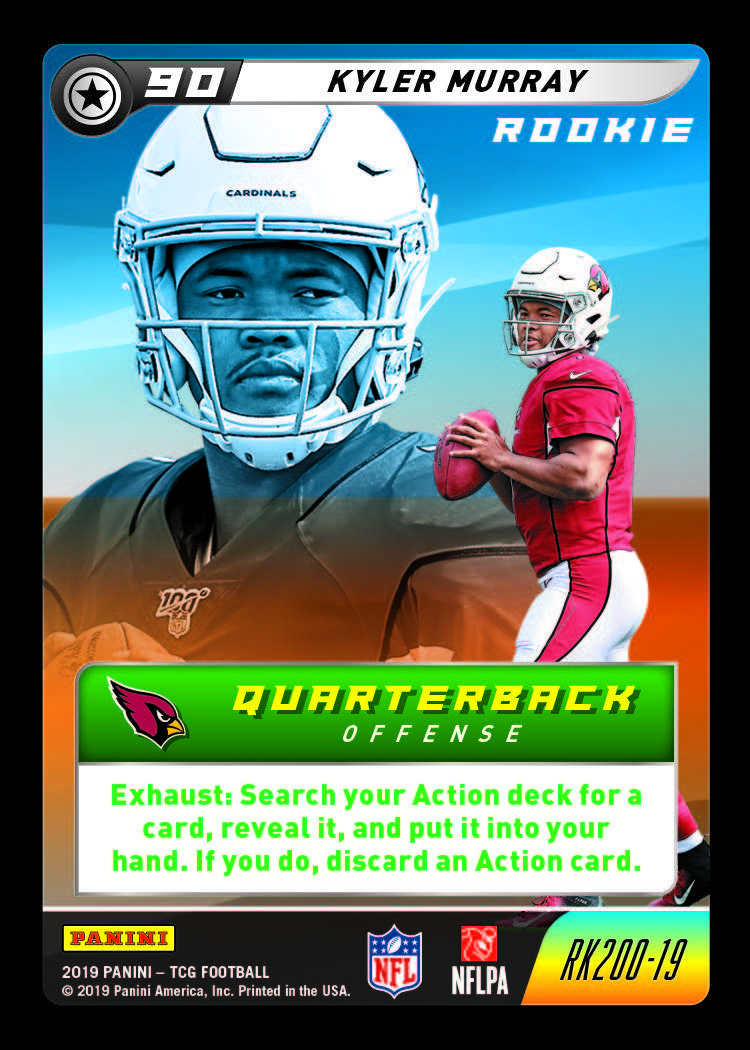 First Buzz 2019 Panini Nfl Five Trading Card Game Blowout