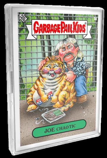 Garbage Pail Kids Chrome Series 2 Base Card 81a SPLIT KIT
