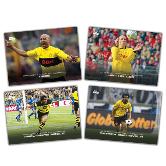 Topps Borussia Dortmund Curated Set Includes Some Hot Ink Blowout Buzz