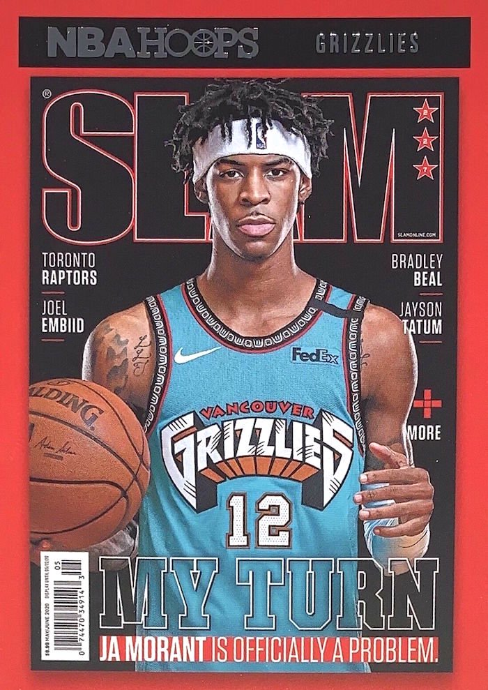 NBA Hoops' SLAM magazine insert cards add fuel to retail fire / Blowout Buzz